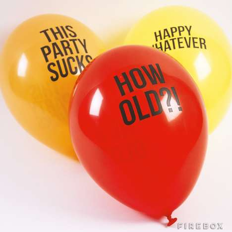 Insensitive Party Balloons