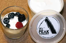 Organic Triple Cream Yogurts - This Company is Producing Greek-Style Yogurt with Triple the Milkfat