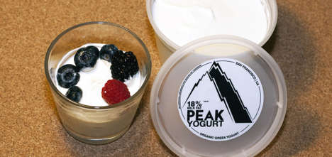 Organic Triple Cream Yogurts