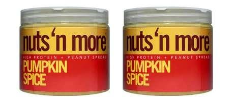 Pumpkin-Flavored Peanut Spreads