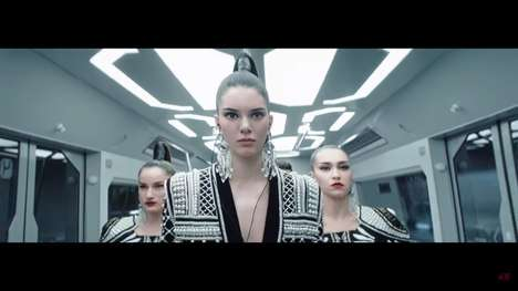 Dance Battle Videos - Kendall Jenner Dances in the New Balmain X H&M Campaign Music Video