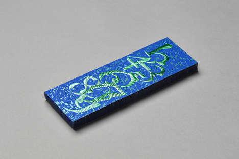 Gilded Numeric Bookmarks