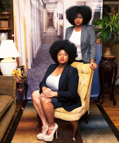 These Professional Portraits Compare Black Women at Home and Work