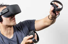 Virtual Reality Handsets - The Oculus Touch Controller Turns Virtual Worlds Tactile