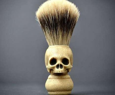 Skull Shaving Brushes