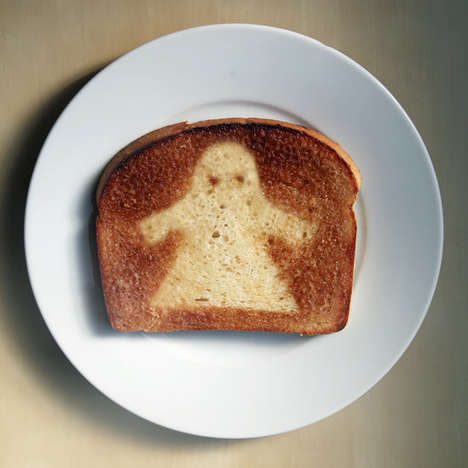Ghoulish Ghost Toast