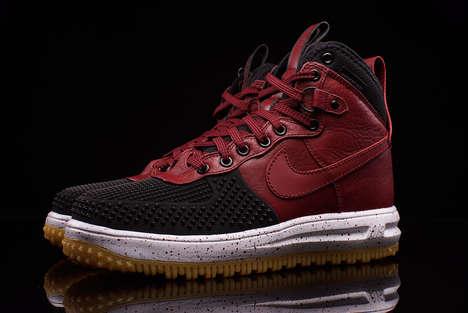 Opulent Oxblood Sneakers