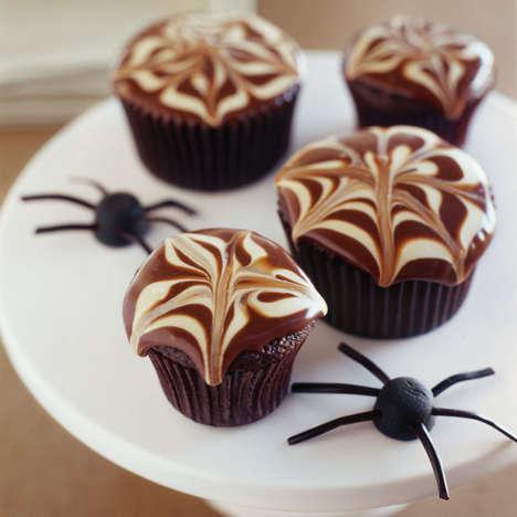 Creepy Crawler Cupcakes