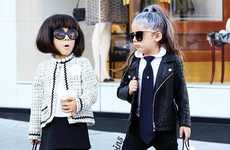 Toddler Fashionista Accounts - 'The Royal Twins' Instagram Feed Features Stylish Twin Sisters