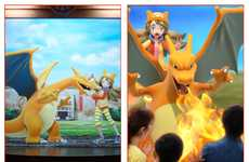 Augmented Reality Anime Games - This Real-Life Pokemon Gym in Japan is an AR Anime Experience