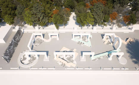 Interactive Modular Pavilions
