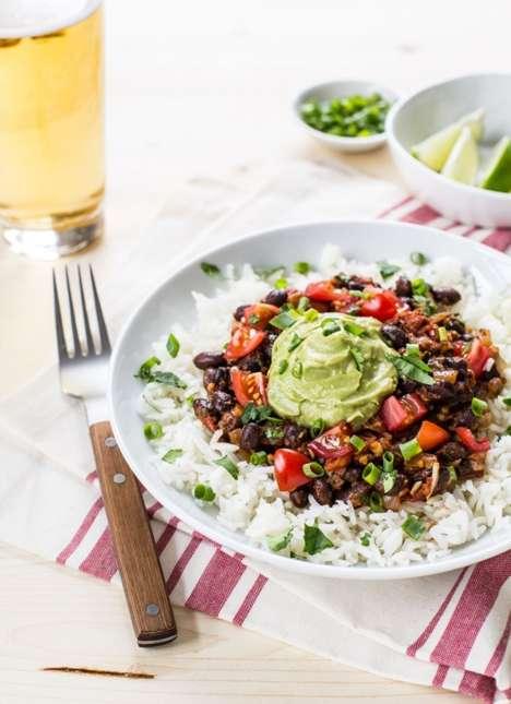 DIY Vegan Burrito Bowls