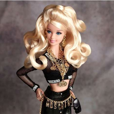 Designer Barbie Couture - The Moschino Barbie Collection Provides High-Fashion Attire for Dolls