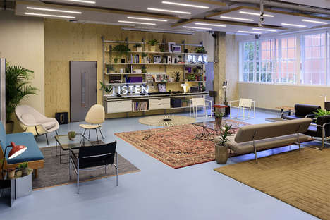 Music-Centric Creative Hubs - The Sonos Studio London is a New Community Space in Shoreditch