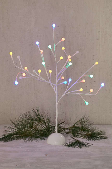 Contemporary Holiday Trees - Urban Outfitters' Gumball Tree is a Modern Take on Classic Decor