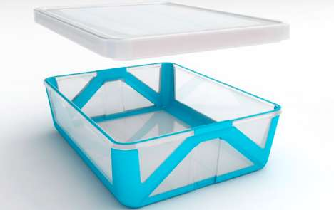 Foldable Origami Containers