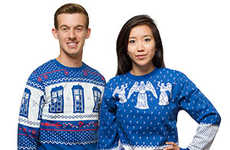 Sci-Fi Holiday Sweaters