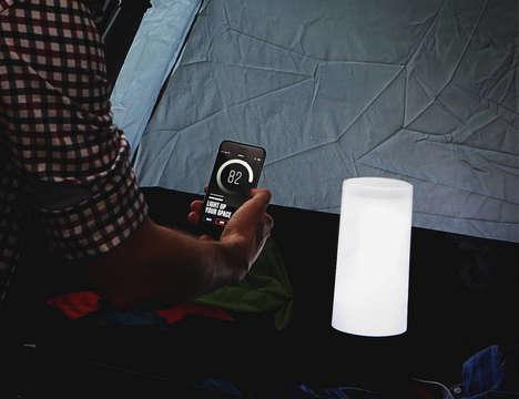 Miniature Bluetooth Lanterns