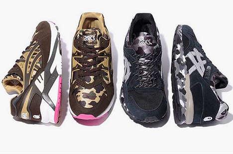 Nostalgic Camo Sneakers