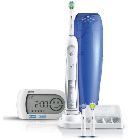 Activity Tracking Toothbrushes - The Oral-B Professional Care 5000 Toothbrush is a Smart Tech Option