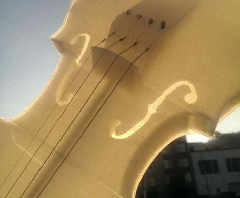 3D-Printed Violins