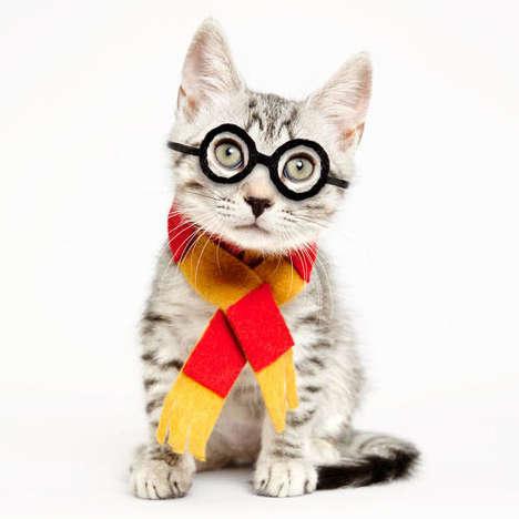 Costumed Cat Adoption Ads