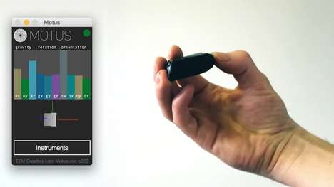Handheld Music-Creating Gadgets - The Motus Lets You Make Music Without Having to Play An Instrument