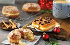 Holiday-Inspired Donut Menus - These Festive Donut Treats Feature Sweet Seasonal Flavors
