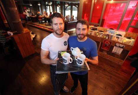 Retro Record-Playing Cafes