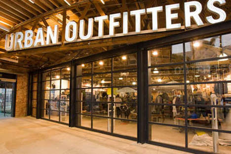 Clothing Store Diners - This New Concept Store by Urban Outfitters is a Food Court Eatery