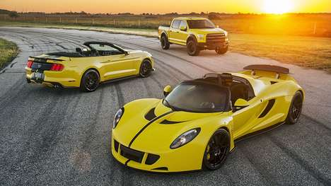 Powerfully Upgraded Hypercars