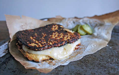 Grilled Cauliflower Sandwiches - This Gluten-Free Sandwich Uses a Veggie in Place of Bread