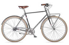 Boulevard-Inspired Bikes - This Luxury Bicycle from Public Bikes is Inspired by the Champs Elysees