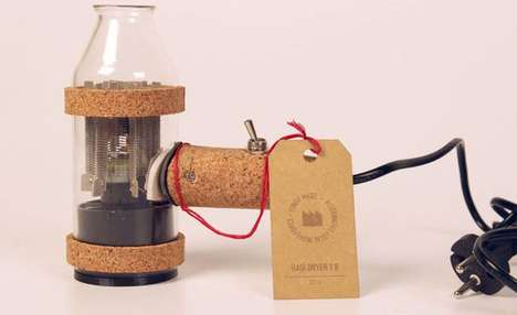 Recycled Open-Source Hairdryers