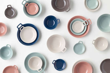 Space-Saving Dishware Sets