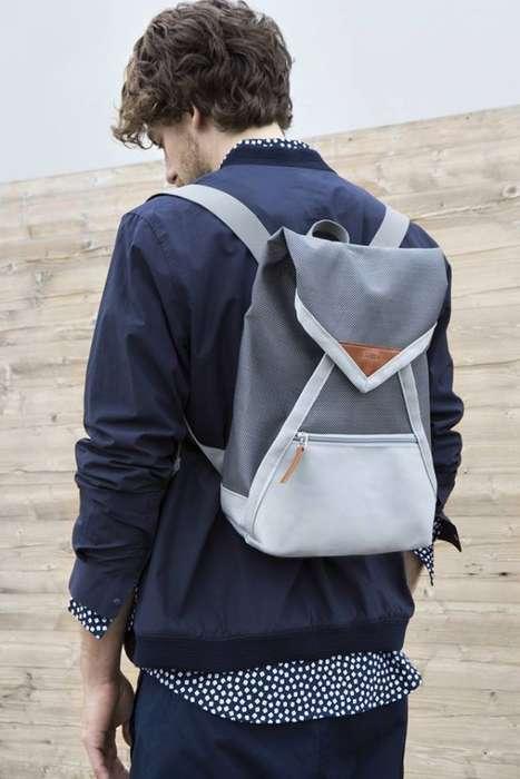 Envelope-Inspired Backpacks