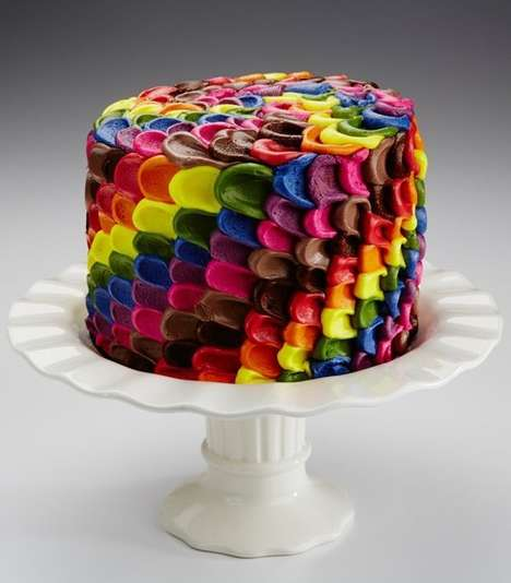 Naturally Colored Cakes