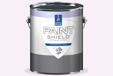 This Special Decorative Paint Contains Anti-Microbial Properties