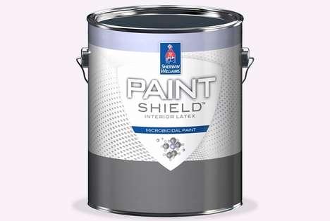 Bacteria-Killing Paints