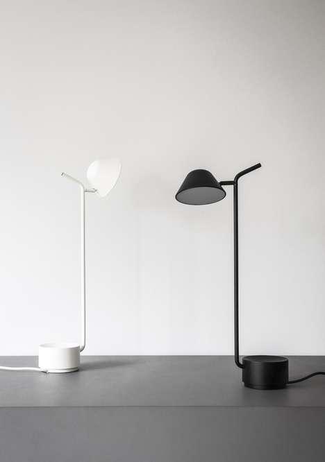 Balanced Skeletal Lamps
