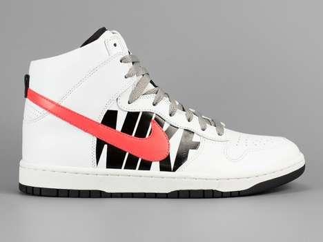 Brand-Emblazoned Sneakers