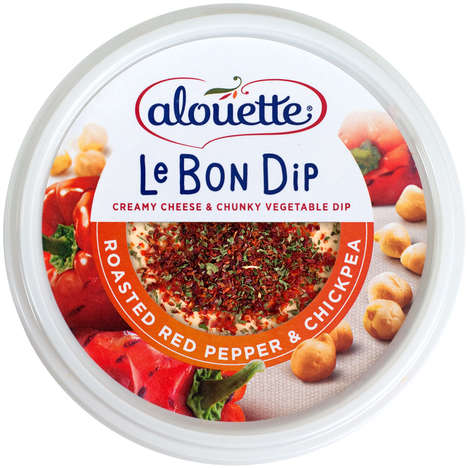 Zesty Greek Yogurt Dips - The Healthy Veggie Dips from Alouette Boast Bold Flavors & Colorful Labels