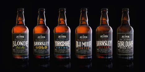 Chalkboard Beer Branding