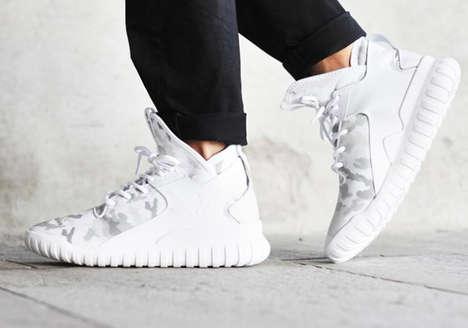 White Camo Sneakers
