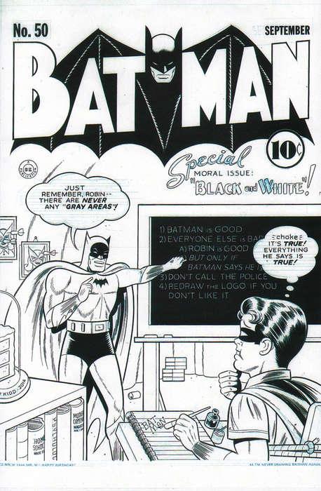 Monochrome Comic Covers