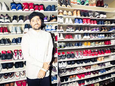 Sneaker Fanatic Photoshoots