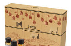 Whisky Advent Calendars - This Adult December Calendar Offers a Different Liquor Sample Each Day