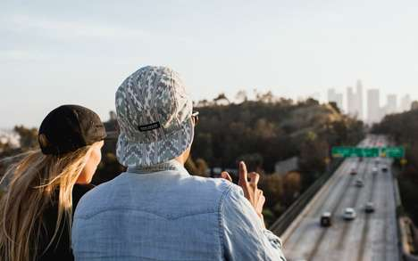 Patterned Hipster Hats