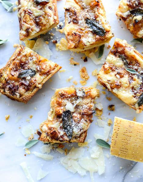 Pumpkin Parmesan Snacks