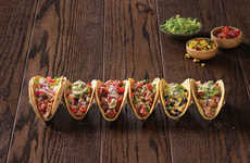Gourmet Fast Food Tacos - These New 'Knockout Tacos' Feature Bold and Unexpected Flavors